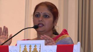 Sis. Jayasudha(Film Actress and Secunderabad MLA)'s Testimony at UECF, New Jersey