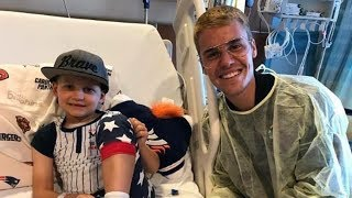Justin Bieber Will Melt Your Heart As He Surprises Sick Fans At Hospital