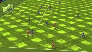 FIFA 14 iPhone/iPad - Elche CF vs. FC Barcelona