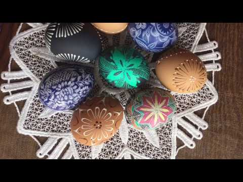 HOW TO MAKE Easter Eggs Pisanki With Colored Wax