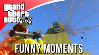 VRACHTWAGEN BOWLEN! (GTA 5 Funny Moments)