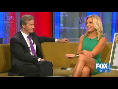 Anna Kooiman s sexy leg cross on Fox & Friends After the Show Show.