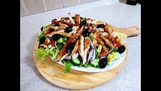 Sallat e Shëndetshme me Mish !!! Easy Healthy Salad Recipe