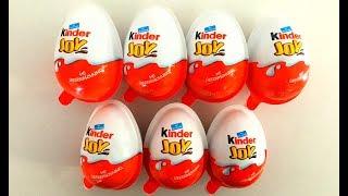 7 Kinder Joy Surprise Eggs