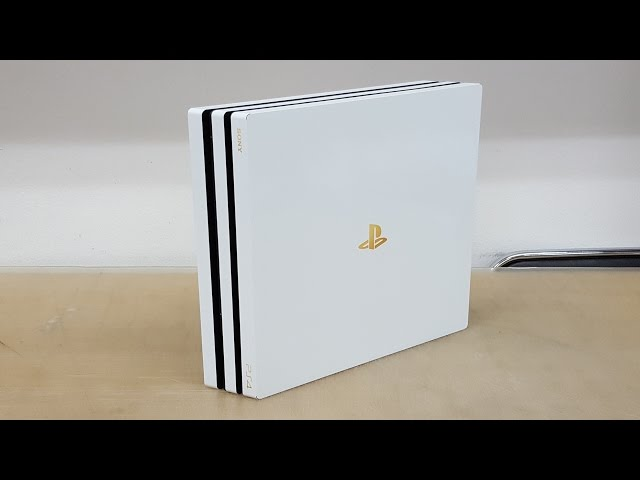 PS4 Pro White/Gold Edition POP SKIN by 부착맨