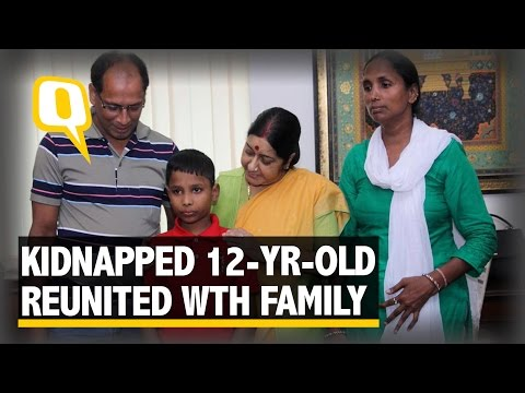 The Quint: 12-year-old Kidnapped Indian Returns to Delhi from Bangladesh