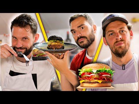 Qui fait le meilleur Burger Burger challenge