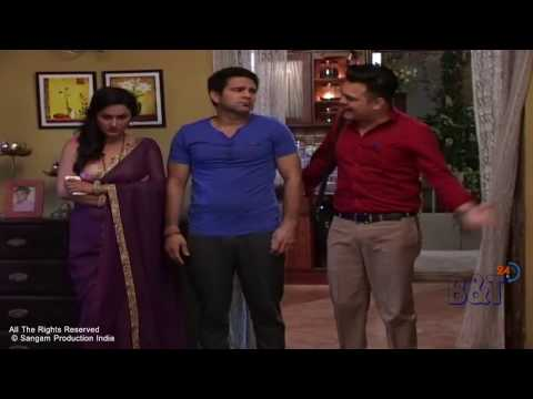 Making Life OK's TV Serial 'May I Come In Madam' |  Kashmira and Sajjan's Funny Scene