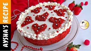 রেড ভেলভেট কেক || Red Velvet Cake Recipe Bangla || How to make Red Velvet Cake || Aysha's Recipe