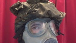 Commando Helmet Gas Mask Compatibility tests
