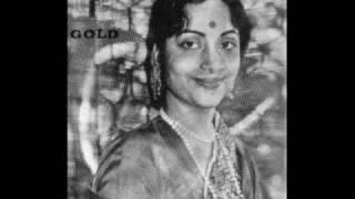 Geeta Dutt, Shanker Dasgupta : Dil ke bas mein hai : Film - Aahuti (1950)