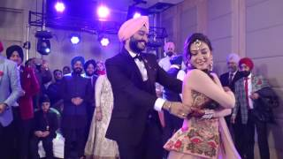 dance performance | wedding | couple dance | punjabi | singh art studio