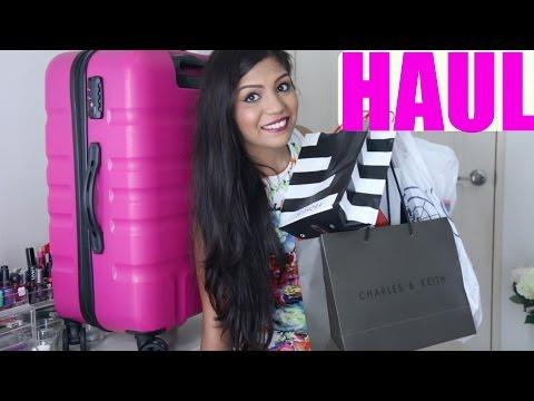 BIG Makeup & Clothing Singapore Haul | Sephora, H&M, Charles & Keith | SuperPrincessjo