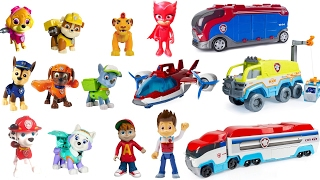 Best Learning Colors for Children Video -  Paw Patrol Pups Match to Paw Patroller Vehicles