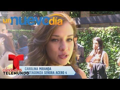 Carolina Miranda nos cuenta todos sobre Señora Acero 4   Un Nuevo Día   Telemundo