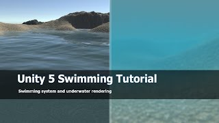 Unity 5 Swimming System and tutorial : Free asset