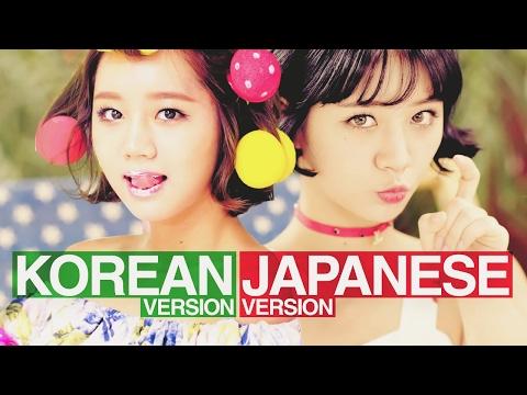 KOREAN VERSION x JAPANESE VERSION (Split Headset)