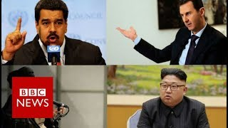 Who's in Trump's new axis of evil? BBC News