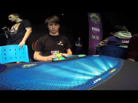 7x7 Rubik's cube former world record: 2:23.55