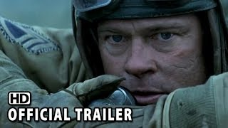 Fury Official Trailer #1 (2014) - Brad Pitt, Shia LaBeouf