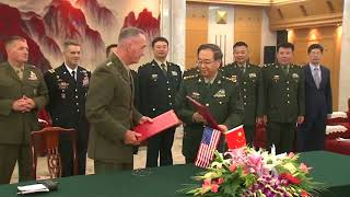 Top US General Meets Chinese President Xi to Discuss North Korean Threat