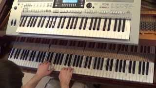 Darius & Finlay ft Lulu - Tonight - piano & keyboard synth cover by LIVE DJ FLO