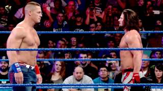 WWE Royal Rumble 2017: Cena vs. Styles –  Jan. 29