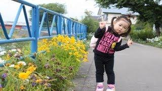 おとと朝のお散歩Rino