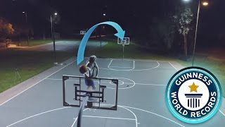 BREAKING CRAZY BASKETBALL WORLD RECORDS!