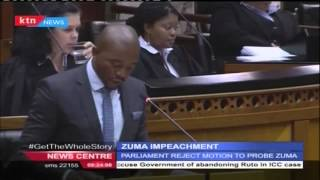 South African Parliament to impeach Zuma after smuggling Omar Al-Bashir out of South Africa