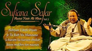 Sufiana Safar With Nusrat Fateh Ali Khan - Vol 2 - HITS OF USTAD NUSRAT - Musical Maestros