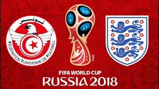 FIFA 18 - TUNISIA VS ENGLAND WORLD CUP 2018