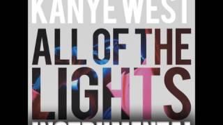 Kanye west all of the lights instrumental