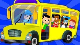Wheels On The Bus | Kindergarten Nursery Rhymes | Videos For Toddlers by Kids Tv