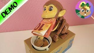 من سرق فلويسى! القردالمضحك و سرقة الاموال فى البنك الالكترونى- حصالة النقود الإلكترونية