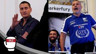 Parker's Promoter Kicks Off At Peter Fury During Press Conference | Joseph Parker v Hughie Fury