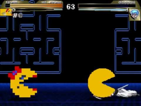 MUGEN Pac Man & Ms. Pacman Vs. Grimmjow Jagerjaques