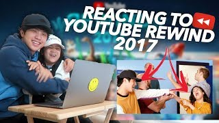 REACTING TO YOUTUBE REWIND 2017 (Niana Hits The Despacito) | Ranz and Niana