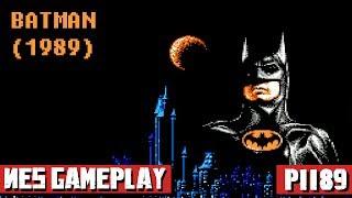 Batman (1989) NES Gameplay Full Walkthrough [Nostalgia] 1080p