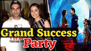 'STREE' Movie Success Party | Shraddha Kapoor, Rajkummar Rao