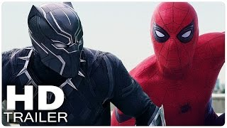 CAPTAIN AMERICA 3 CIVIL WAR Alle Trailer German Deutsch | The First Avenger | Marvel Film 2016
