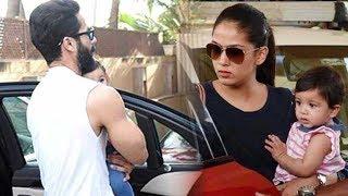 Shahid and Mira return with cute daughter Misha!