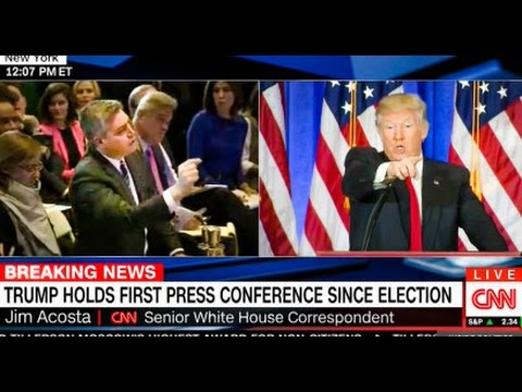 WATCH Trump Scolds CNN Reporter At Press Conference