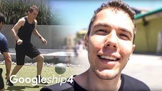 Cum e viața în Los Angeles #Googleship