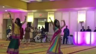 Texas gang performance at Nimesh & Sonia's Sangeet