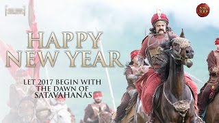 Happy New Year 2017 - Team Gautamiputra Satakarni || Balakrishna, Krish || #NBK100