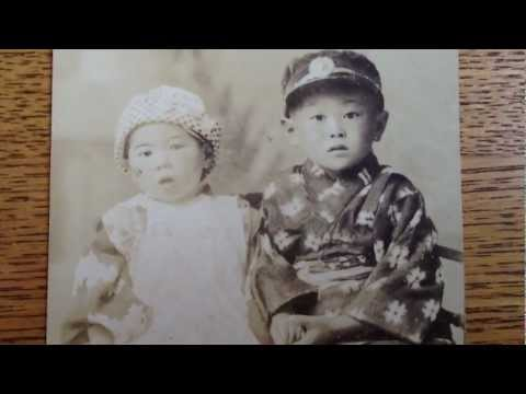 Old Japan Photo - Young Children Kimono Portrait