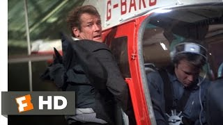 For Your Eyes Only (1/10) Movie CLIP - A Pleasant Flight (1981) HD