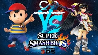 Smash 4Ever Weekly 3 | FS NAKAT (Ness) vs FS Nairo (Drk Pit/Robin) Losers Finals