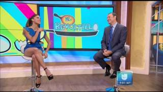 Francisca Lachapel hot legs - Despierta America - 08/23/16